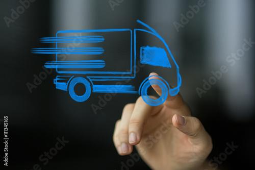 Fotografie, Obraz  delivery