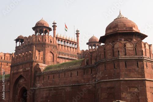 Fotografie, Obraz  Mughal Palace in Delhi