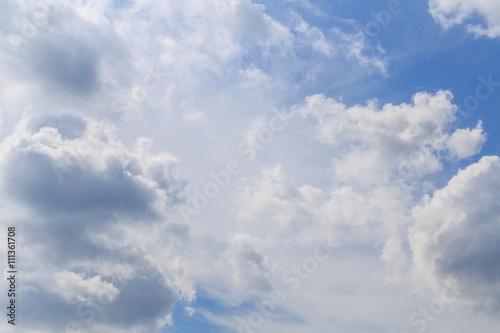 Foto op Plexiglas Hemel Clouds with blue sky