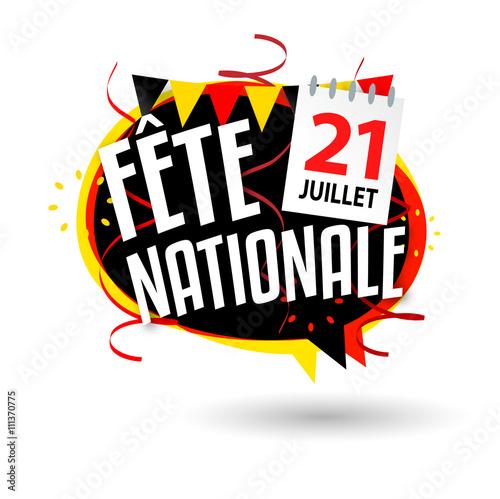 Fotografía Fête nationale belge / 21 juillet