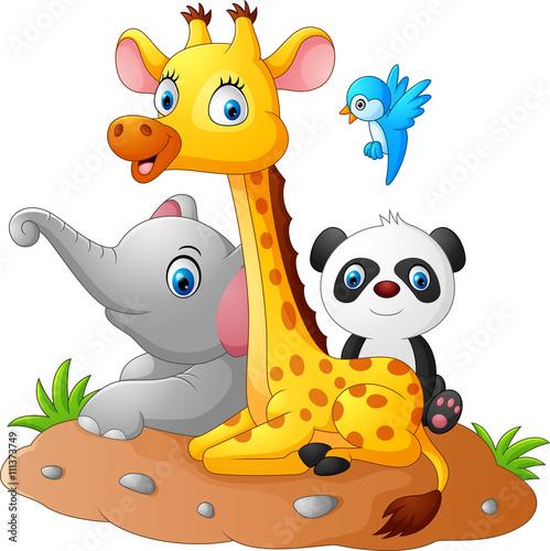 szczesliwe-male-zwierzatka-safari-dla-dzieci