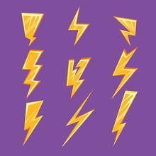 Lightening Bolt Set