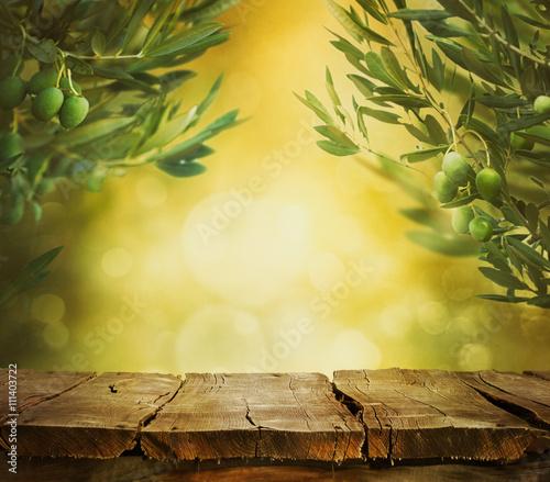 Tuinposter Olijfboom olives