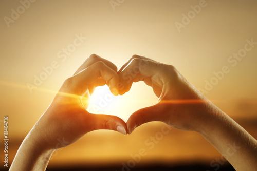 Plakat letnia miłość