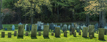 Rows Of Gravestones From The 1...