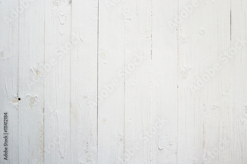 Tuinposter Hout white wood background and texture with space