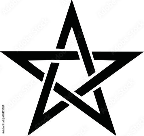 Photo  Pentagram symbol