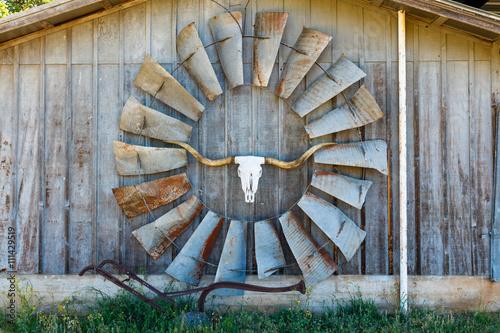 Fotografie, Obraz  Texas barn art