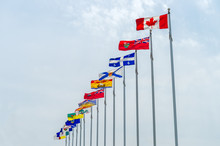 Picture Of The Canadian Flag A...