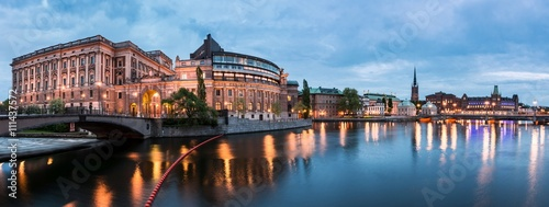 Photo  Riksdag building, Stockholm, Sweden