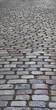 Long Cobblestone Roadway Background