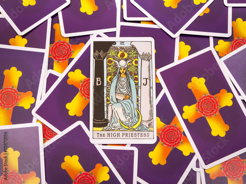 Tarot cards Tarot, the high priestess card - Buy this stock