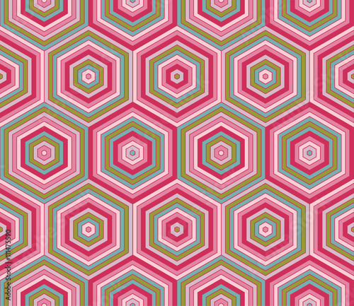 Photo Stands Psychedelic Abstract geometric seamless pattern for leaflets, prints, banners, web design, invitations, mock ups, backgrounds, business cards