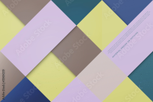 Abstract Colorful Background With Triangular And Square Frames
