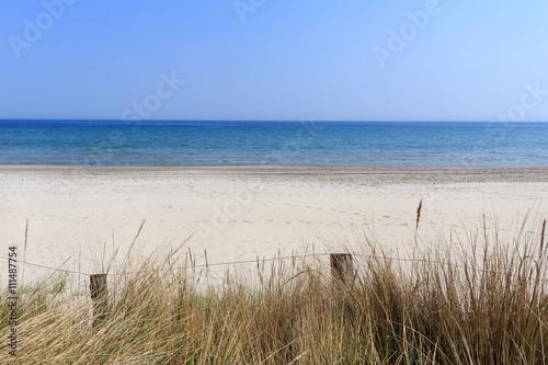 Fotografie, Obraz  Sandstrand in der Luebecker Bucht