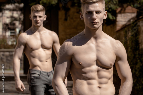 Young twin sexy brothers