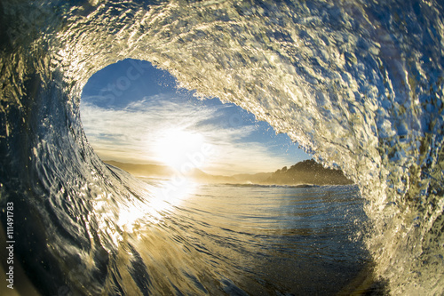 Close-up of a wave breaking, Buchupureo, Chile