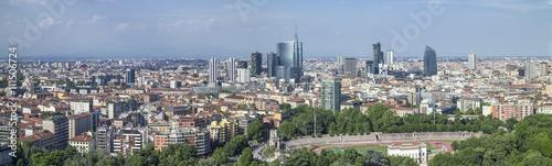 Fotobehang Milan Skyline di Milano