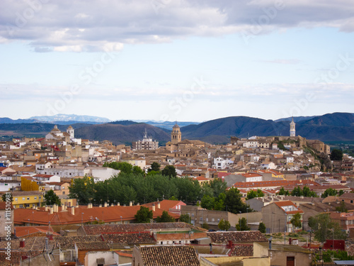 Panorámica de Hellin (Albacete)
