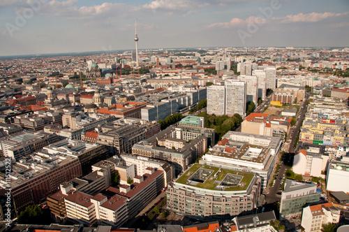 Papiers peints Paris panorama of Berlin, Germany