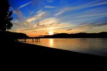 Sonnenuntergang Kamloops