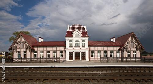 Papiers peints Gares Железнодорожный вокзал. Верхотурье. Свердловская область.