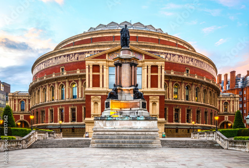 Royal Albert Hall, London, England, UK, with sunset Wallpaper Mural