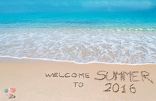 Welcome To Summer 2016 Written...