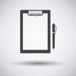Tablet and pen icon