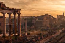 Rome, Italy: The Roman Forum. ...