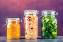 Preserving. Pickles Jars. Jars...