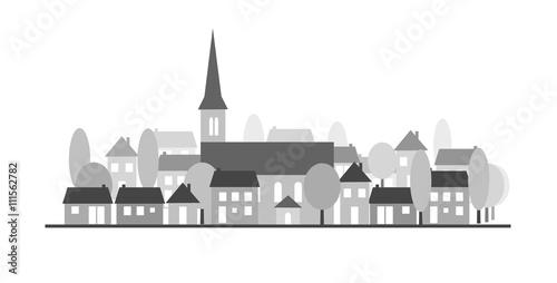Village-silhouette
