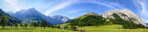 Door stickers Alps karwendel mountains