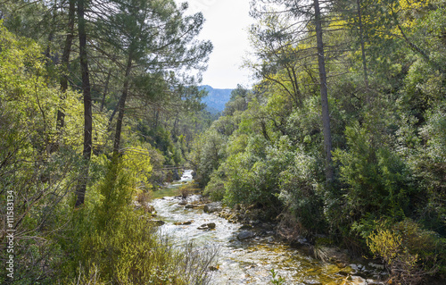 River Borosa Walking Trail in the Sierra Cazorla Mountain Range, Jaen Province, Andalusia, Spain - 111583134