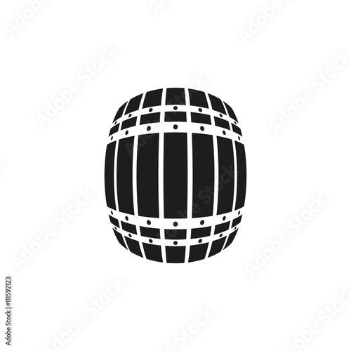 The Barrel icon Fototapete