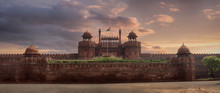 View Of Delhi Fortress