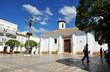 Plaza del ayuntamiento, iglesia de nuestra señora de la O, Ubrique, España