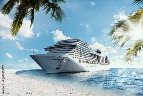Papel de parede Tropical cruise voyage
