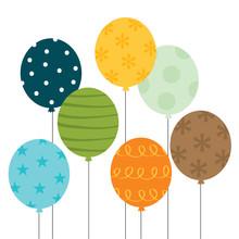 Colorful Balloon Design