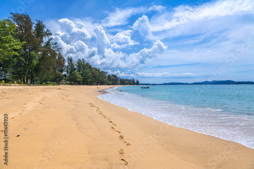 Photo  Sandy beach at Khao Lak