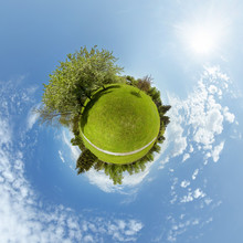 Little Planet 360 Panorama Concept