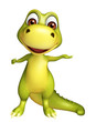 cute funny Dinosaur cartoon character