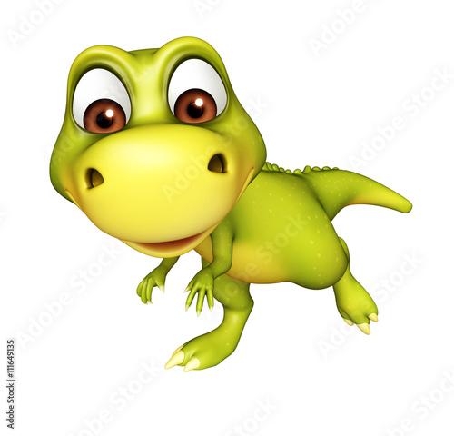 cute Dinosaur cartoon character