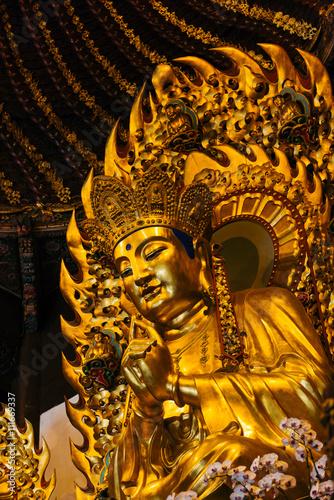 Photo  Rerliogius Statue in Longhua Temple, Shanghai - China