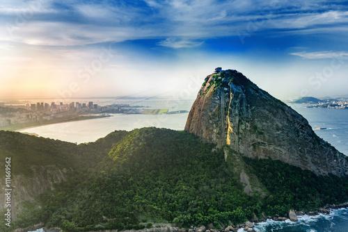 Canvastavla  Sugarloaf mountain in Rio De Janeiro