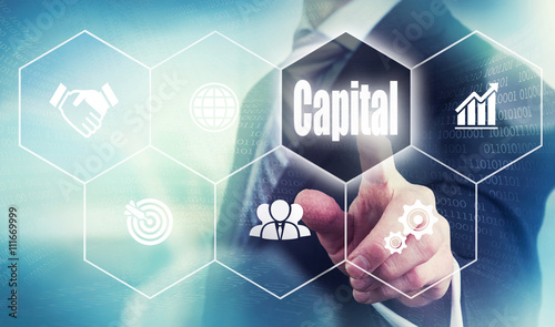 Foto  Businessman Capital Concept