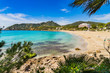 Spain Majorca Sand Beach Coast of Canyamel