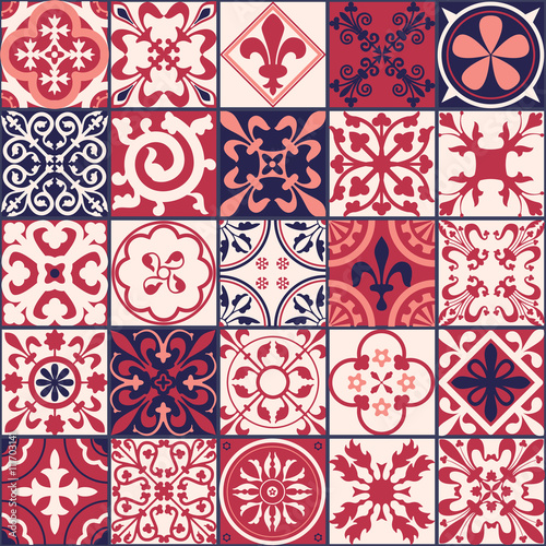 Moroccan tiles Pattern