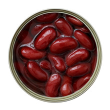Open Can Of Red Kidney Beans F...