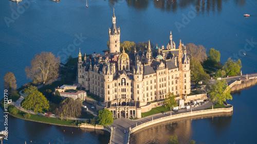 Plakat Zamek w Schwerinie